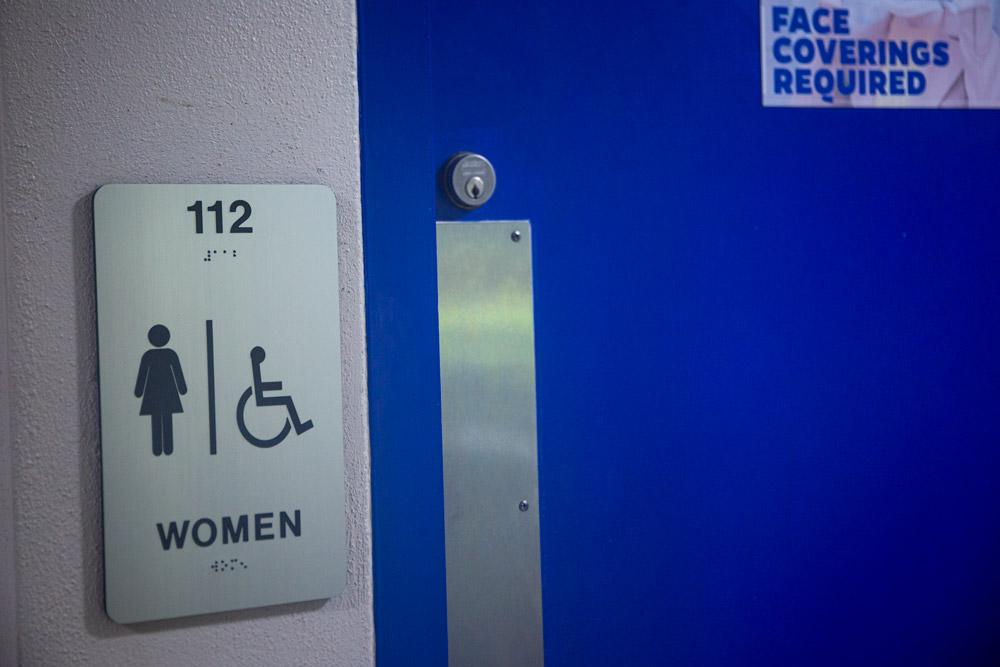 bathroom signage